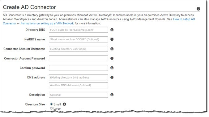 AWS AD Connector