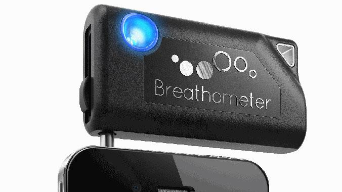 Indiegogo-Projekt Breathometer