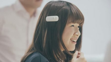 Fujitsu Ontenna (© Fujitsu)