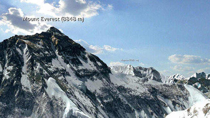 Mount Everest 3D App