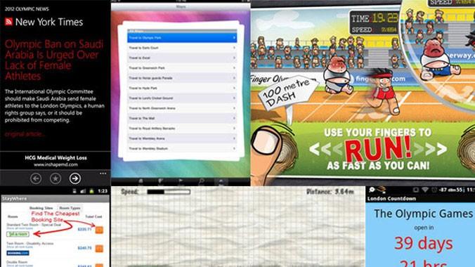 Olympische Spiele Apps